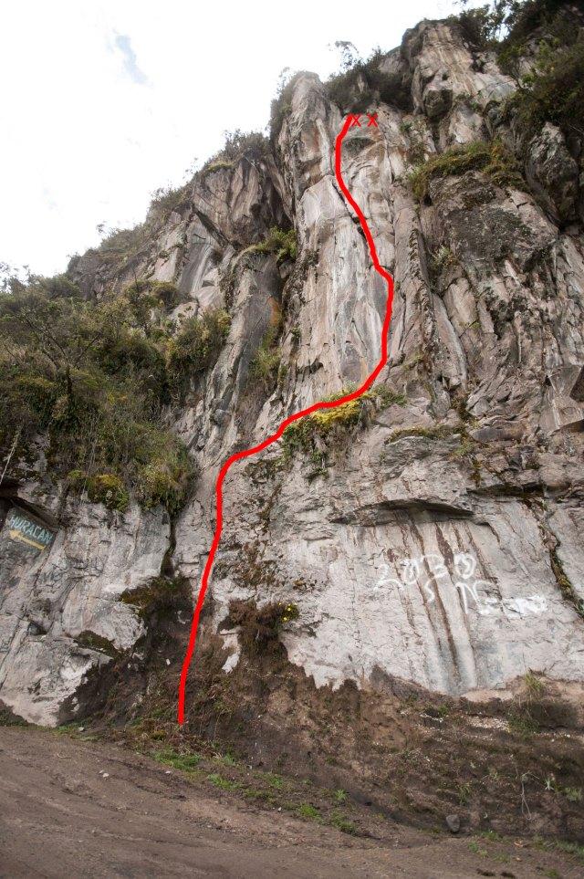 Escalada en el Guagua Pichincha