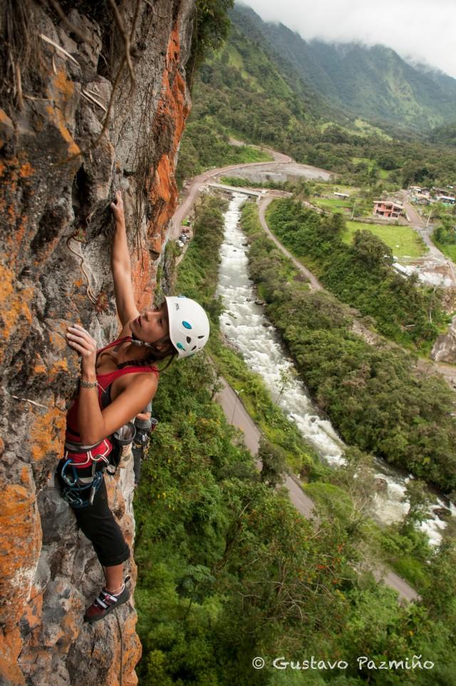 Escalada en Napo, Ecuador