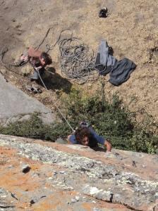 Escalada en Hatun Machai, Perú