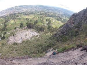 Escalada en roca en Ecuador