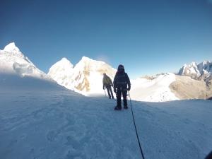 Escalando el Pisco, Cordillera Blanca, Perú